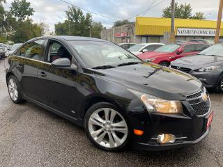Used 2012 Chevrolet Cruze RS/AUTO/FOGLIGHTS/BLUETOOTH/LOADED/ALLOYS for sale in Scarborough, ON