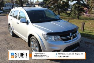 Used 2013 Dodge Journey R/T LEATHER SUNROOF AWD for sale in Regina, SK