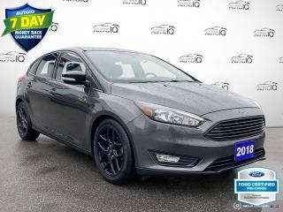 Used 2018 Ford Focus SEL Auto Heated Seats/Bluetooth/Alloy Wheels for sale in St Thomas, ON
