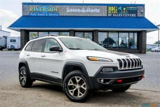 Used 2017 Jeep Cherokee Trailhawk - Backup Cam - Heated Seats for sale in Guelph, ON