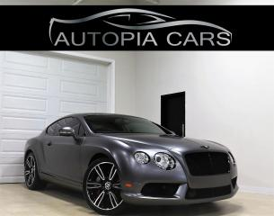 Used 2013 Bentley Continental GT MULLINER PKG TOURING PKG V8 EXTRA CLEAN NAVI AWD for sale in North York, ON