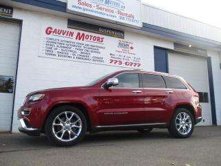 Used 2014 Jeep Grand Cherokee Summit for sale in Swift Current, SK