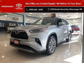 New 2021 Toyota Highlander LTD AWD 6CY Platinum APX 00 for sale in Mississauga, ON