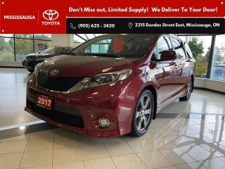 Used 2017 Toyota Sienna SE for sale in Mississauga, ON
