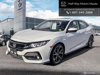 Used 2017 Honda Civic Hatchback Sport for sale in Thunder Bay, ON