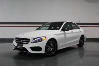 Used 2018 Mercedes-Benz C-Class C300 4MATIC AMG NIGHT PKG I PANOROOF I NAVIGATION I LEATHER for sale in Mississauga, ON