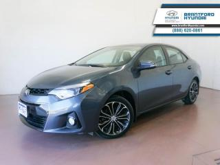 Used 2015 Toyota Corolla LOW KM | 1 OWNER | BACK UP CAM  - $123 B/W for sale in Brantford, ON