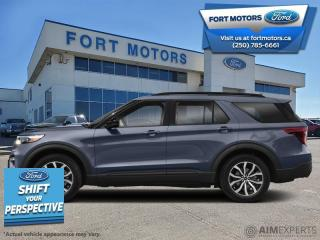 New 2021 Ford Explorer ST  - Leather Seats - Sunroof - $502 B/W for sale in Fort St John, BC