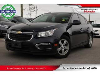 Used 2015 Chevrolet Cruze 2LT Auto Tan Leather Sunroof Backup Camera for sale in Whitby, ON