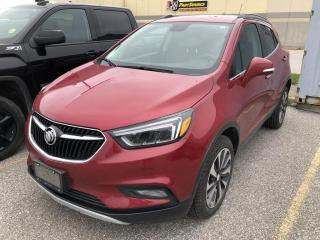 Used 2018 Buick Encore Essence ESSENCE AWD HEATED SEATS/STEERING WHEEL OFF LEASE for sale in Orillia, ON