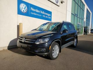 Used 2017 Volkswagen Tiguan COMFORTLINE | PANORAMIC ROOF | HTD LEATHER SEATS | VW CERTIFIED for sale in Edmonton, AB