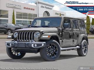 New 2021 Jeep Wrangler 4xe Unlimited Sahara 4xe for sale in Surrey, BC