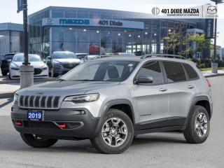 Used 2019 Jeep Cherokee Trailhawk FINANCE AVAILABLE| ONE OWNER| NO ACCIDEN for sale in Mississauga, ON
