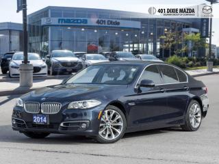 Used 2014 BMW 5 Series 528i xDrive FINANCE AVAILABLE| NO ACCIDENTS| LOW M for sale in Mississauga, ON