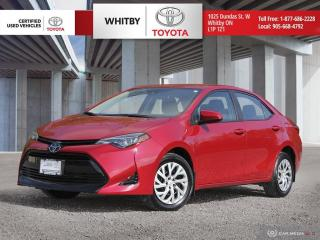 Used 2018 Toyota Corolla LE for sale in Whitby, ON