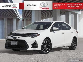 Used 2017 Toyota Corolla SE for sale in Whitby, ON