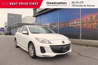 Used 2013 Mazda MAZDA3 GS-SKY - Sporty 6-Spd Manual, Heated Seats! for sale in Vancouver, BC