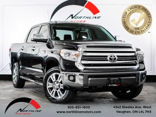 Used 2017 Toyota Tundra Platinum/1794 EDITION/NAV/BACKUP CAM/BSPOT/SUNROOF for sale in Vaughan, ON