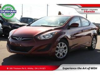 Used 2016 Hyundai Elantra GL Automatic Heated Seats for sale in Whitby, ON