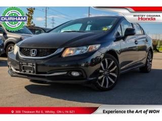 Used 2013 Honda Civic TOURING NAVIGATION LEATHER SUNROOF BACKUP CAMERA for sale in Whitby, ON