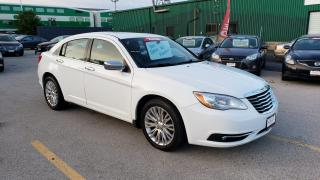 Used 2012 Chrysler 200 Limited **SUNROOF / LEATHER HEATED SEATS** for sale in Burlington, ON