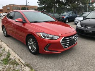 Used 2017 Hyundai Elantra SE,CERTIFIED,NO ACCIDENT,CAM,H/STEERING,LANE DEPAR for sale in Toronto, ON
