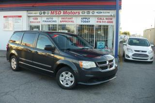 Used 2011 Dodge Grand Caravan SE *ONE OWNER * ACCIDENT FREE for sale in Toronto, ON