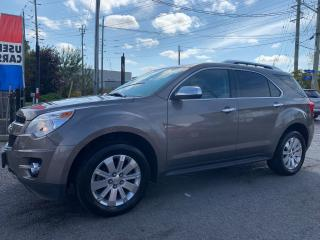 Used 2010 Chevrolet Equinox LTZ, AUTO, LEATHER SEATS, CAMERA, B-TOOTH, ALLOYS for sale in Ottawa, ON
