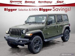 New 2021 Jeep Wrangler Unlimited Sahara Altitude for sale in Etobicoke, ON