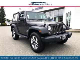 Used 2018 Jeep Wrangler JK Sport for sale in North Vancouver, BC