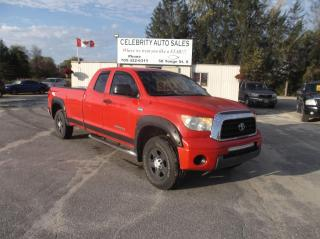 Used 2007 Toyota Tundra 4X4 SR5 4 DOR 8FT BOX for sale in Elmvale, ON