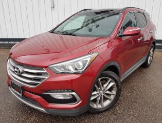 Used 2017 Hyundai Santa Fe Sport Limited AWD *LEATHER-SUNROOF* for sale in Kitchener, ON