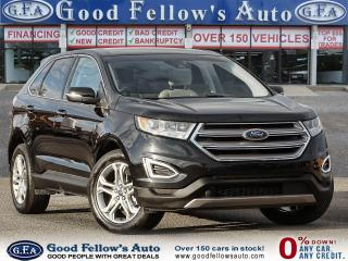 Used 2018 Ford Edge TITANIUM, LEATHER SEATS, NAVI, REARVIEW CAMERA for sale in Toronto, ON