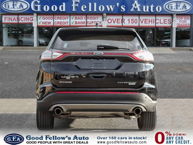 2018 Ford Edge TITANIUM, LEATHER SEATS, NAVI, REARVIEW CAMERA Photo4