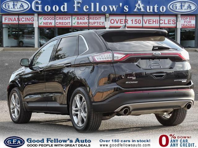2018 Ford Edge TITANIUM, LEATHER SEATS, NAVI, REARVIEW CAMERA Photo5