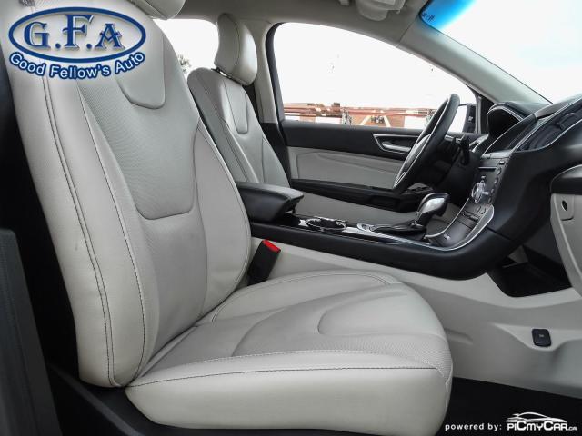 2018 Ford Edge TITANIUM, LEATHER SEATS, NAVI, REARVIEW CAMERA Photo10
