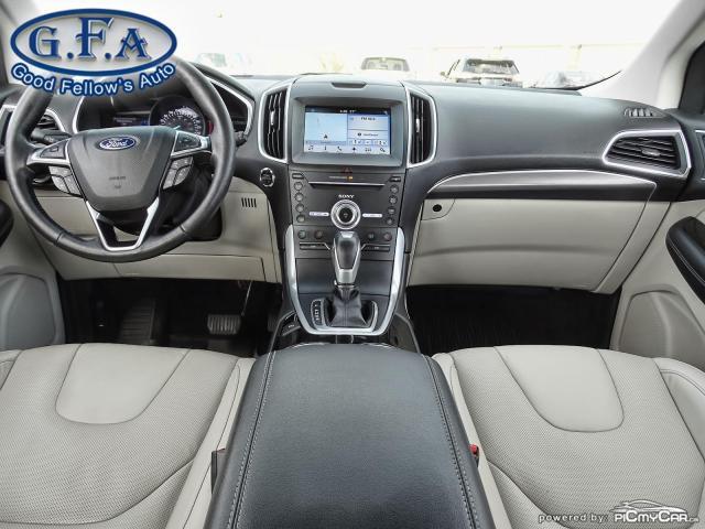 2018 Ford Edge TITANIUM, LEATHER SEATS, NAVI, REARVIEW CAMERA Photo12