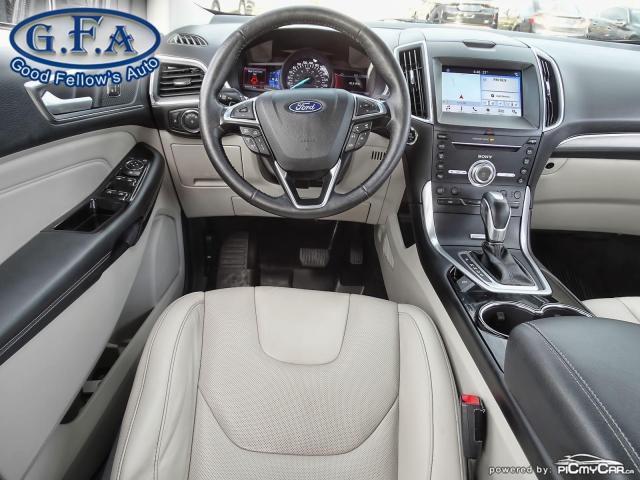2018 Ford Edge TITANIUM, LEATHER SEATS, NAVI, REARVIEW CAMERA Photo13