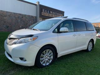 Used 2013 Toyota Sienna LIMITED AWD NAVI REAR VIEW CAM BSM PANO ROOF for sale in North York, ON