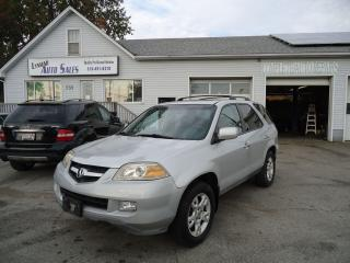 Used 2004 Acura MDX w/Tech Pkg for sale in Sarnia, ON
