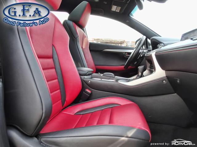 2018 Lexus NX F SPORT3, LEATHER SEATS, SUNROOF, NAVI, BACKUP CAM Photo11