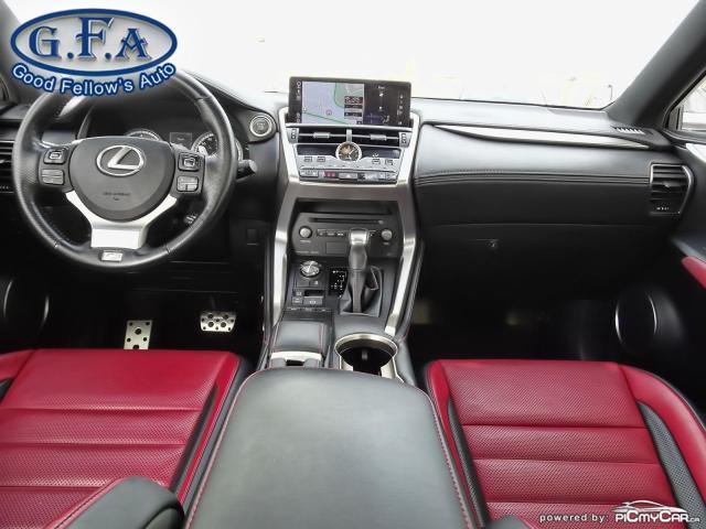2018 Lexus NX F SPORT3, LEATHER SEATS, SUNROOF, NAVI, BACKUP CAM Photo13