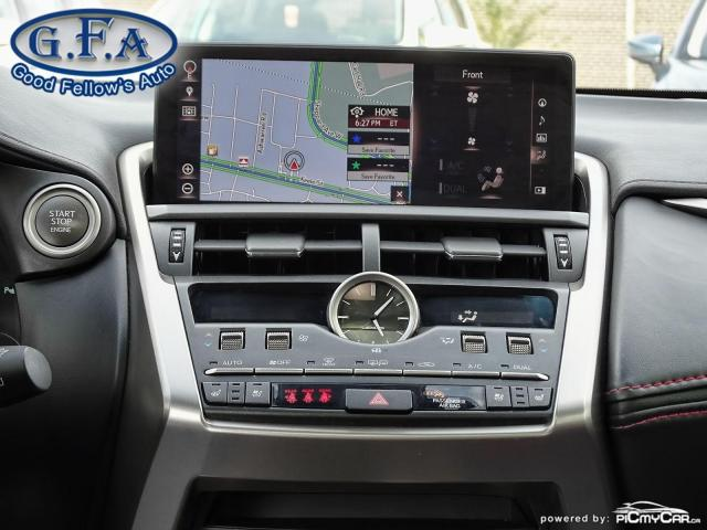 2018 Lexus NX F SPORT3, LEATHER SEATS, SUNROOF, NAVI, BACKUP CAM Photo15