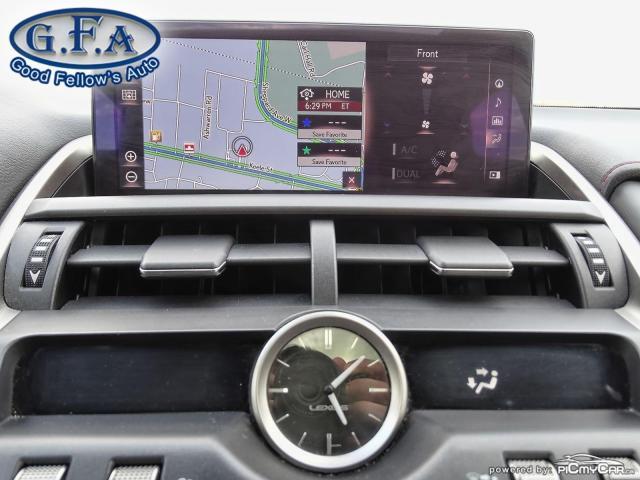 2018 Lexus NX F SPORT3, LEATHER SEATS, SUNROOF, NAVI, BACKUP CAM Photo21