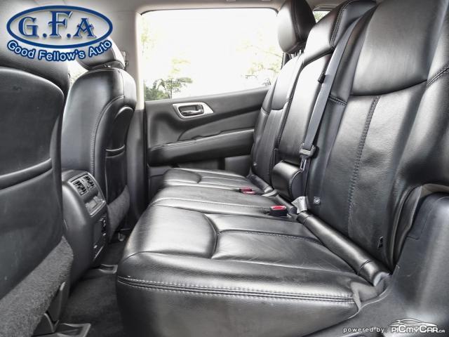 2017 Nissan Pathfinder SL MODEL, AWD, 7PASS, LEATHER SEATS, 360° CAMERA Photo9