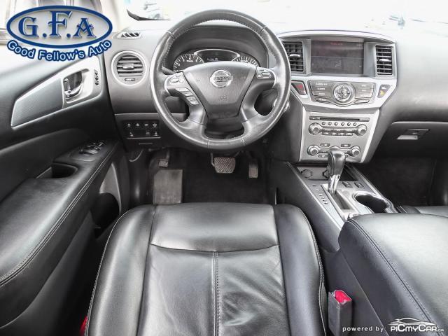 2017 Nissan Pathfinder SL MODEL, AWD, 7PASS, LEATHER SEATS, 360° CAMERA Photo14