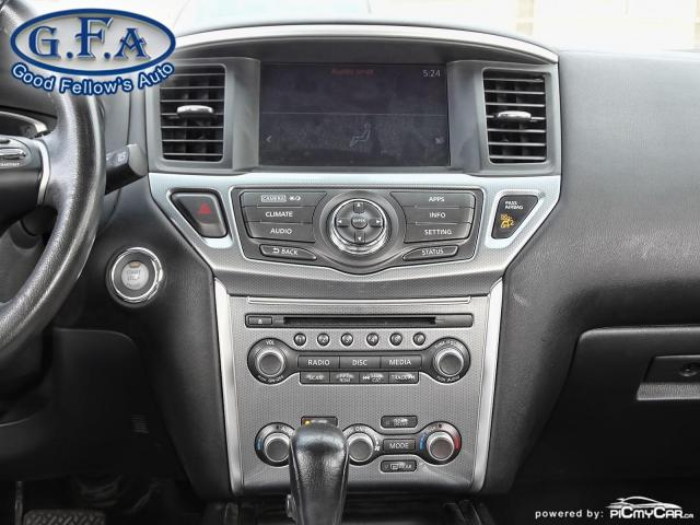 2017 Nissan Pathfinder SL MODEL, AWD, 7PASS, LEATHER SEATS, 360° CAMERA Photo15