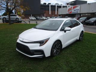 Used 2021 Toyota Corolla SE ~ SUNROOF ~ APPLE CARPLAY ~ PUSH START for sale in Toronto, ON