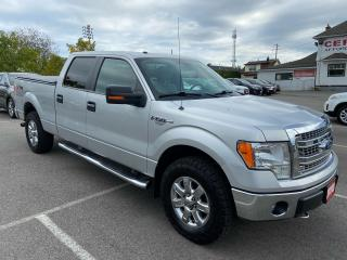 Used 2014 Ford F-150 XLT XTR ** CREW, V8, 4X4, 6.5FT BOX, SNRF, BLTH,** for sale in St Catharines, ON