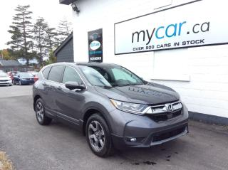 Used 2019 Honda CR-V EX-L LEATHER, SUNROOF, HEATED SEATS, VERY LOW KM!! for sale in North Bay, ON